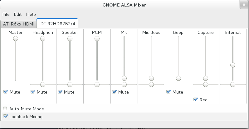 Muting the PC speaker with gnome-alsa-mixer