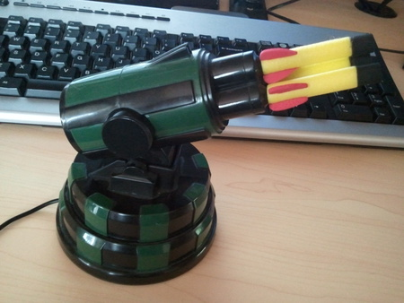 DreamCheeky USB Missile Launcher