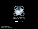 ReactOS boot screen