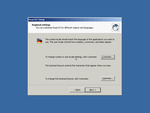 ReactOS Install - Regional settings