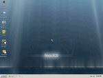 ReactOS desktop after installation