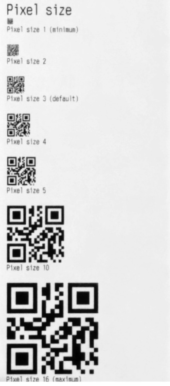 Howto: QR Codes on receipts with escpos-php – Mike's