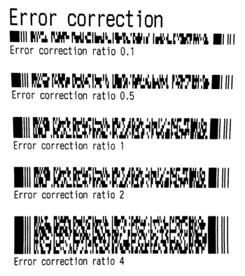 How to print PDF417 codes with escpos-php – Mike's Software Blog